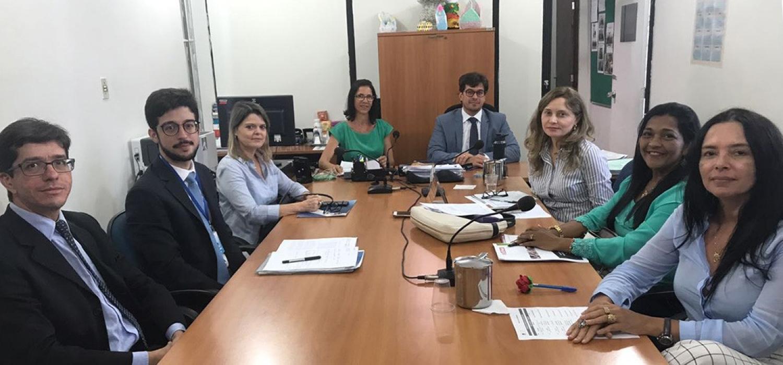 Parceria entre TJPB, MP, Aemp e Creas oportunizará cursos profissionalizantes a jovens infratores